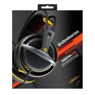 BNIB sealed local stock SteelSeries Siberia 200 (Alchemy Gold Edition) Gaming Headset