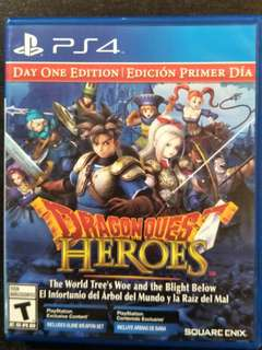 PS4 Dragon Quest Heroes - Day One Edition