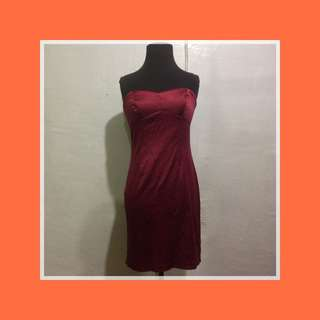 For Rent: Satin Bodycon Dress