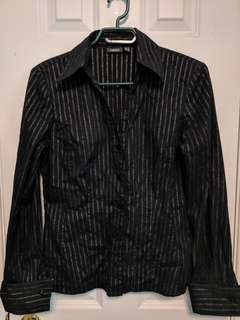 Mexx Black Dress Shirt