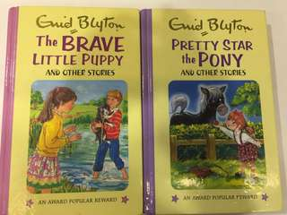 2xEnid Blyton Books