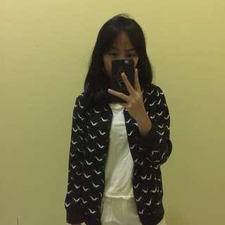 mustache jacket