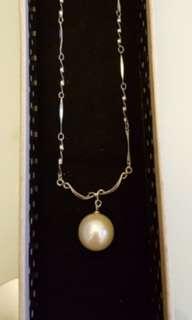 純銀珍珠項鍊