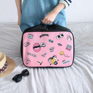 (R)Cartoon Portable Travel Totes Bag