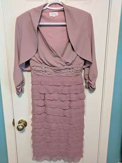 Pink Party Dress Size 6
