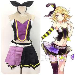 Kagamine Rin LUVORATORRRRRY Cosplay Costume
