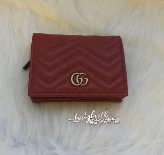 Gucci Marmont 銀包