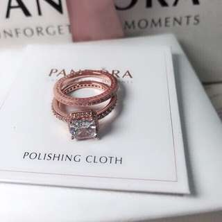 Pandora Double Elegance Ring