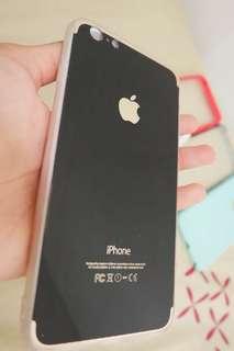 Preloved - Softcase iPhone6+/6s+ BlackJet Iphone7LookAlike
