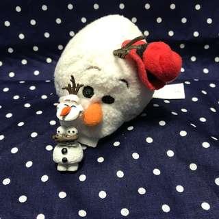 🚚 ✨冰雪奇緣 Frozen 雪寶 玩具組合 扭蛋 TSUM TSUM 玩偶 2件組✨
