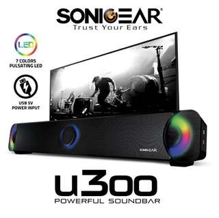 SonicGear; U300 Soundbar / Home Theatre Speaker