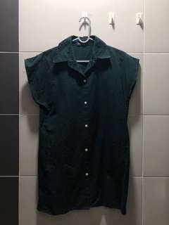 Dark Green Long Shirt