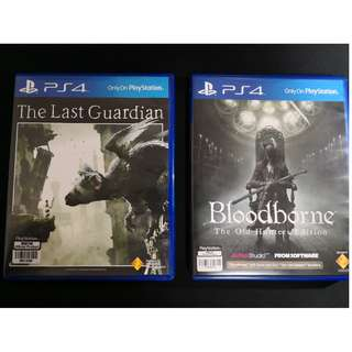 The Last Guardian, Bloodborne GOTY