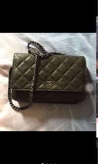 🚚 Chanel 金屬黑 woc