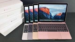 Cicil Macbook MNYM2 8/256 gb 12inc rose dp ringan proses 3 menit