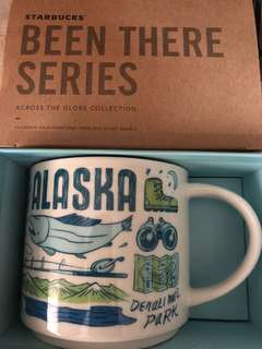 Starbucks been there series mug Alaska