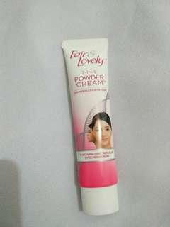 Fair & lovely 2in1 powder cream 20g