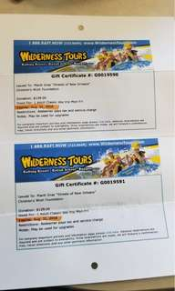 Wilderness tours