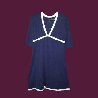 Navy blue dres