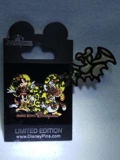 Disney Pin Halloween HK 限量版