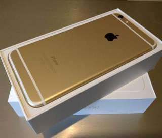 Iphone6 plus 64Gb 金色