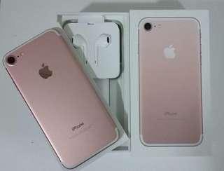 Iphone7 128gb玫瑰金