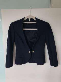 David Lawrence Navy Blazor Jacket (size 6)