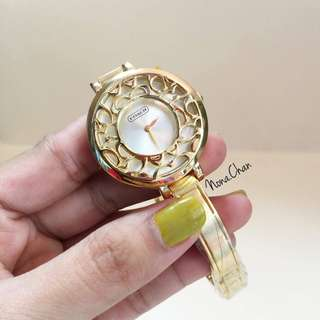Coach Watch Gold