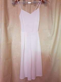 jumpsuit — white