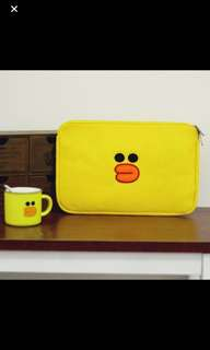 "Line Cartoon - Sally Laptop Case (Up to 13"")"