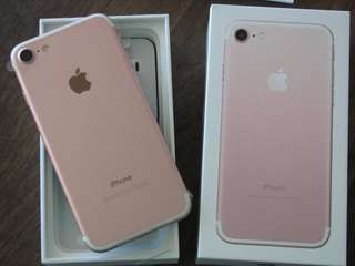Iphone7 32Gb 玫瑰金