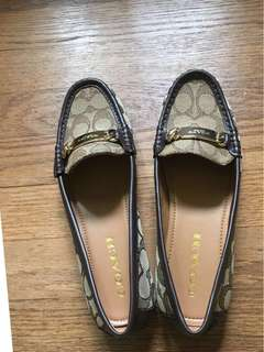 🎉🎉大出清🎉🎉Coach休閒平底鞋尺寸6.5✈️免運費