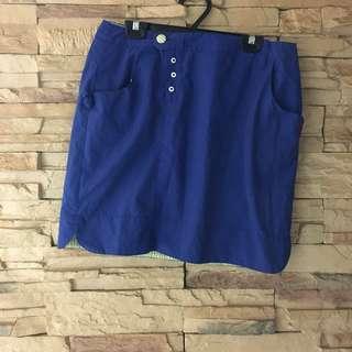🚚 a la sha 造型薄短裙  M 立體口袋