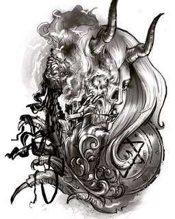 Tattoo, tattooing service, custom design