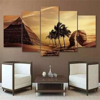 Egyptian Pyramid Canvas Print