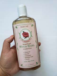 Madre Labs Rose Witch Hazel Toner with Aloe Vera