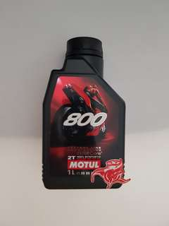 New Instock Motul 800 Motorcycle 2T.