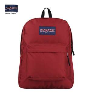 Jansport Backpack$260酒紅色