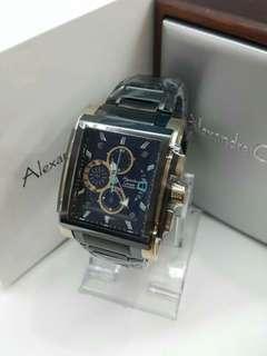 Jam Tangan Pria Original Alexandre Christie AC 6405 MC