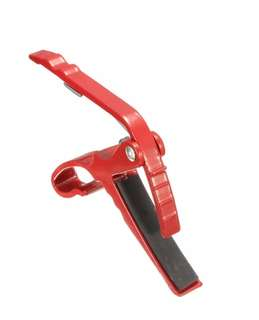 Folk Acoustic Electric Guitar Capo Trigger Key Clamp Change Single-handed Guitar Parts Red