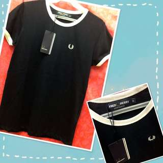 Fred Perry Logo Shirt (dark blue)