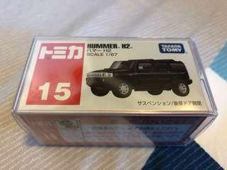 Tomica 車仔 日版 15 Hummer H2 全新未開