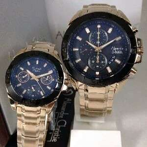 Alexandre Christie AC 6224 Rosegold Couple 45mm & 33mm Original
