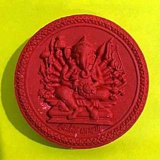 Phra Pikanet Amulet Year 2010 - Red version