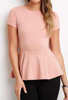 F21 Peplum Top