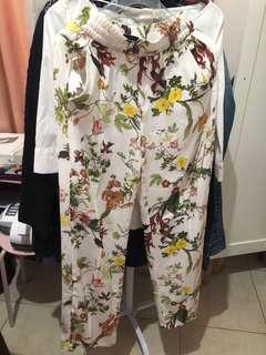 Zara woman culotte extra small