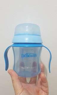 Botol Dr Brown soft spout training cup