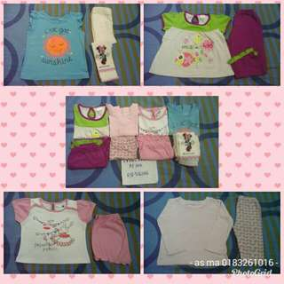 all inc pos girl 1-2 year clothes
