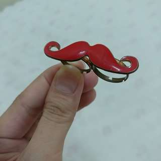 Vintage Mustache Ring