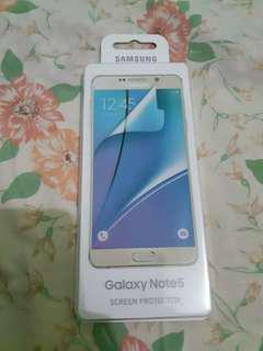 Authentic Note 5 Screen Protector